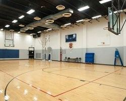 Baden Community Center Basketball Court