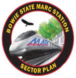 Bowie State marc Station Section Plan Logo